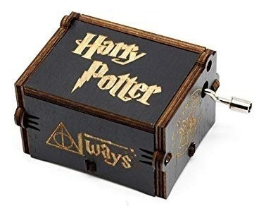 Caja Musical Harry Potter De Madera Diseño Always