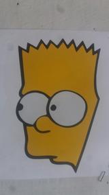 Adesivo Bart Simpsons