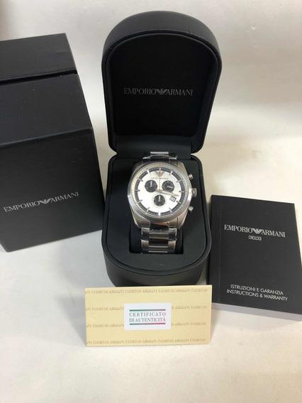 Relógio Emporio Armani Ar6050 Com Caixa E Garantia