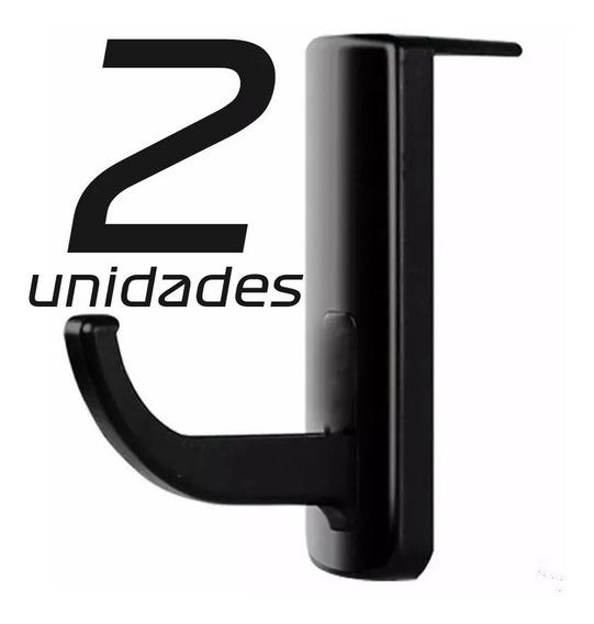 2 Suporte Fone De Ouvido Headset Headphone Gamer - Acessório