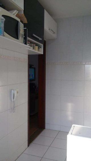 Apartamento Com 2 Dorms, Vila Jockei Clube, São Vicente - R$ 145 Mil, Cod: 2974 - V2974