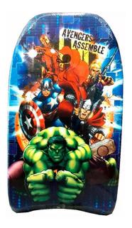 Tabla Barrenador Avengers Hulk Board 84cm 1960 Nuevo Bigshop