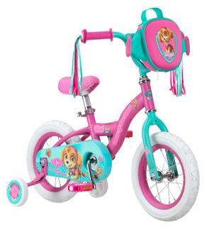 Bicicleta Para Niña Nickelodeon Paw Patrol Skye Rueda De