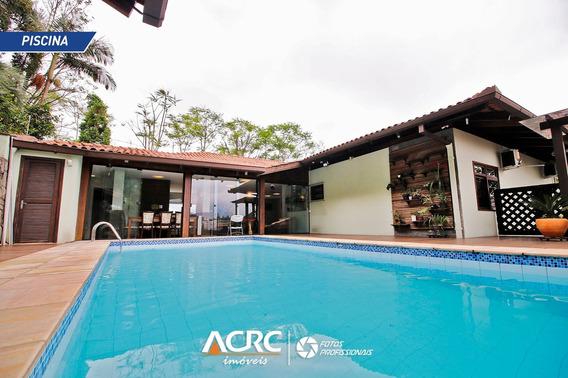 Acrc Imóveis - Casa Residencial Mobiliada E Com Piscina Para Venda No Bairro Itoupava Seca - Ca01180 - 34599697