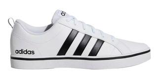 Tenis adidas Pace Vs Caballero Comodos 100% Originales Blanco Casuales