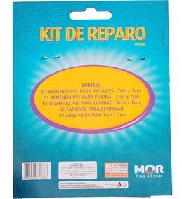 Kit De Reparo Para Piscinas Vedação - Mor