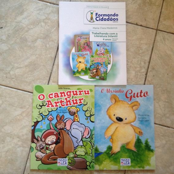 3 Livros Formando Cidadãos Kit C 4 Anos Educação Infantil C2