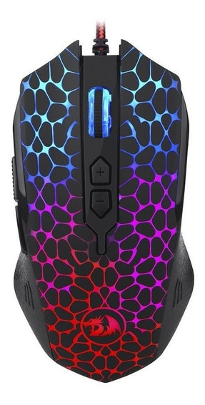 Mouse Gamer Redragon Inquisitor Rgb 10000dpi Com Fio