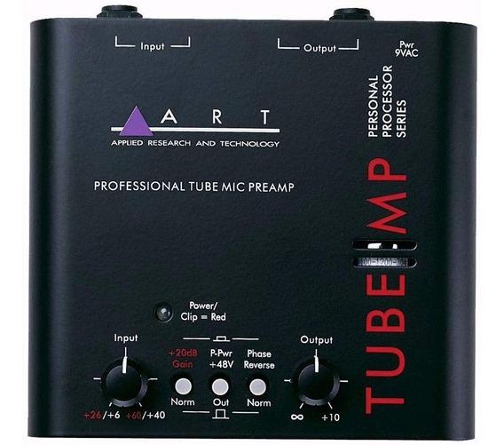Pré-amplificador Valvulado Art Tube Mp Baixo Voz Toca Discos