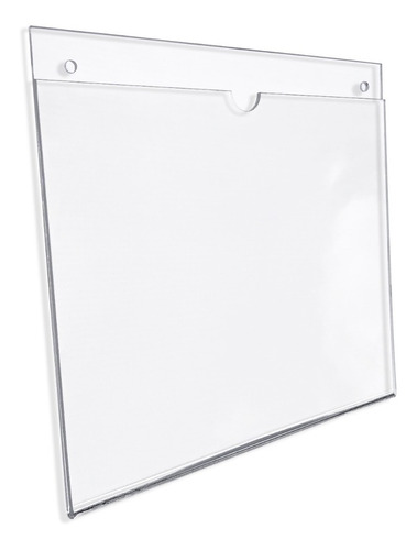 Porta Hojas Carta Horizontal, Acrílico De 3mm