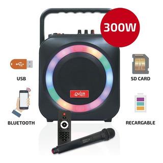 Parlante Potenciado Portatil Bluetooth Overtech 300w 105m Pc