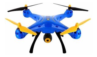 Drone Syma X8SW con cámara HD blue