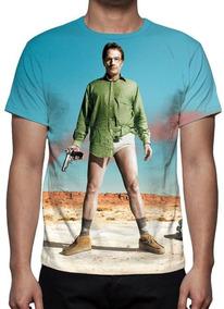 Camisa, Camiseta Série Breaking Bad Mod 04 - Promoção