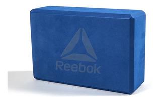 Bloque Para Yoga Reebok Impermeable Elongación Azul