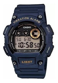 Relógio Casio Masculino W-735h-2avdf Original + Nota
