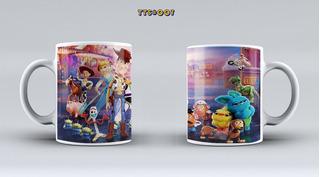 Tazas 11 Oz Toy Story Regalo, Cotillon, Recuerdos.