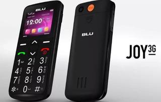 Celular Blu Joy Com 3g Para Idosos Teclas Grandes Sos