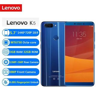Celular Lenovo K5 32gb 3gb Imp Digital 2 Câmeras Traseira