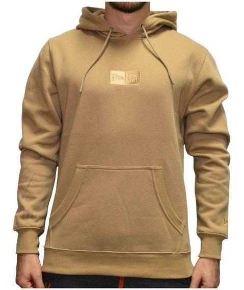 Moletom New Era Essentials Fleece Caqui