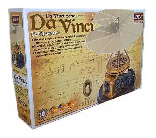 Modelos Academia Da Vinci Máquinas Serie Helicóptero  # 181