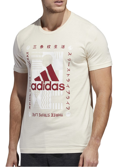 Remera adidas Training Global Citizens Hombre Be