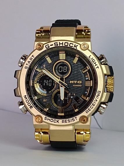 Relógio Masculino Digital/analógico Esportivo+caixa