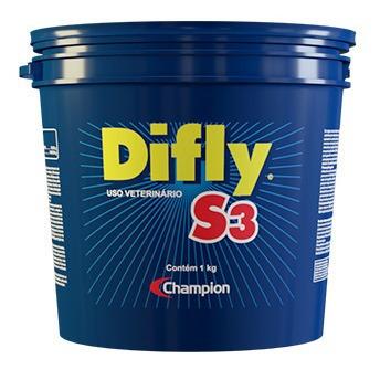 Imagem 1 de 5 de Difly S3 1 Kg - Combate O Carrapato E A Mosca-dos-chifres