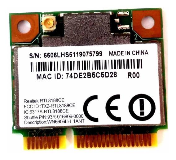 Placa Wifi Wireless Positivo Unique S1990 Rtl8188ce Wn6606lh