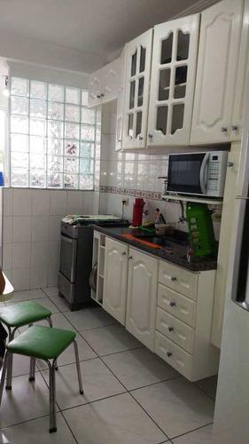 Apartamento Com 2 Dorms, Estuário, Santos - R$ 310 Mil, Cod: 1323 - V1323