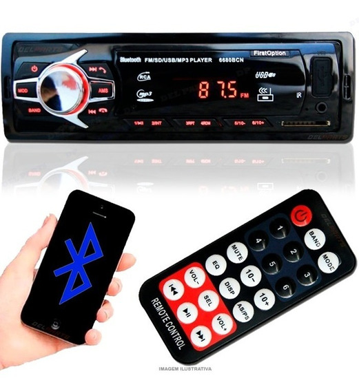 Aparelho Som Carro Bluetooth Pendrive Sd Rádio Citroen Ds5