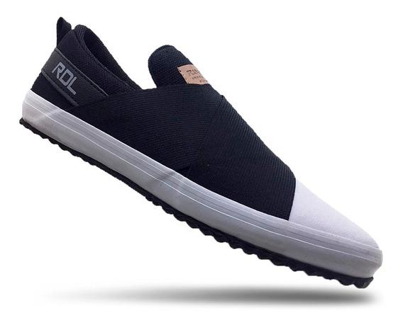 Tenis Feminino Slip-on Sneaker Tendencia 2019
