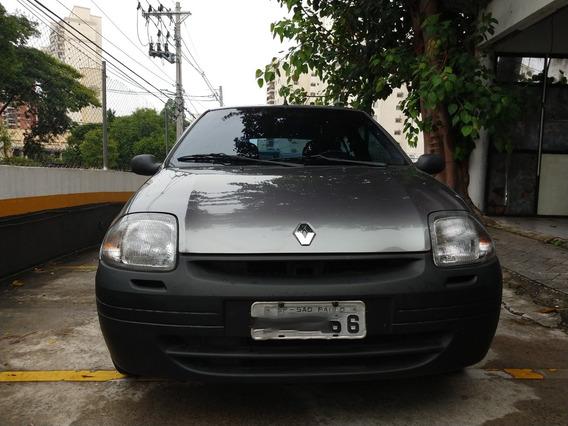 Renault Clio 1.0 Rl 2001 - Impecável Ipva Pago - Lindo