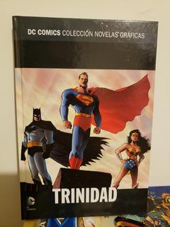Dc Trinidad Superman Batman Wonder Woman Novelas Salvat 25