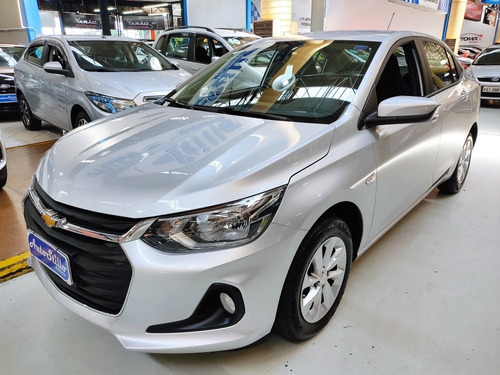 Chevrolet Onix Plus Ltz 1.0 Flex Turbo Prata 2020 (aut.)