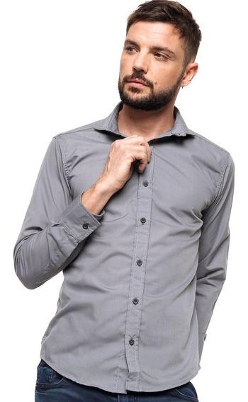 Camisas Entalladas Hombre Slim Fit Varios Colores Envío Gratis!!!
