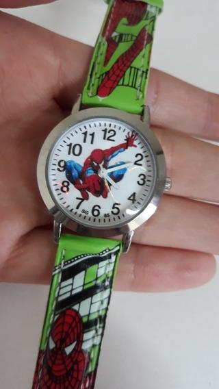 Relógio Infantil Homem Aranha - Pronta Entrega.