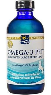 Nordic Naturals Omega 3 Pet - Liquido De Aceite De Pescado P