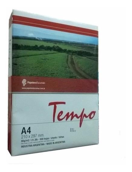 Resma Tempo A4 75grs 500 Hojas San Justo