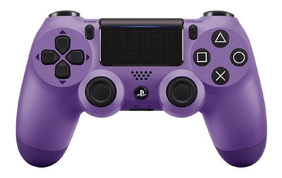 Controle joystick sem fio Sony Dualshock 4 electric purple