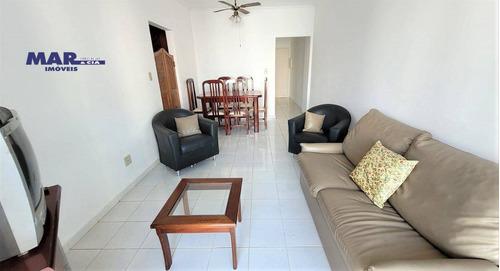 Imagem 1 de 10 de Apartamento À Venda No Guarujá, Na Praia Das Pitangueiras, Próximo Da Praia, Sacada, 02 Vagas De Garagem E Churrasqueira. - Ap11268