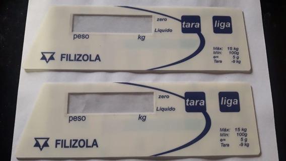 Teclado Membrana Balança Filizola Bp15 Lcd Branco Original