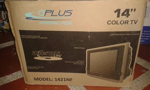 Tv General Plus De 14 Pulgadas A Color Y Con Control.