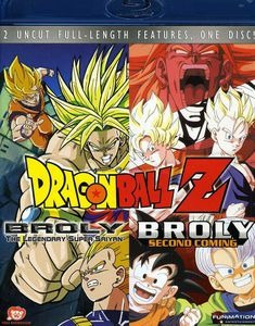 Blu-ray Dragon Ball Z: Broly Double Feature