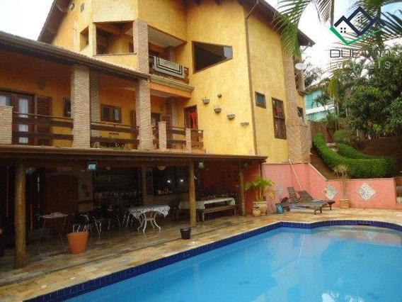Sobrado Com 4 Dormitórios À Venda, 520 M² Por R$ 1.800.000 - Aruã - Mogi Das Cruzes/sp - So0033