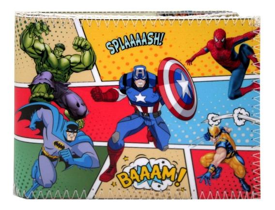 Billetera Avengers Comics Marvel Superherores