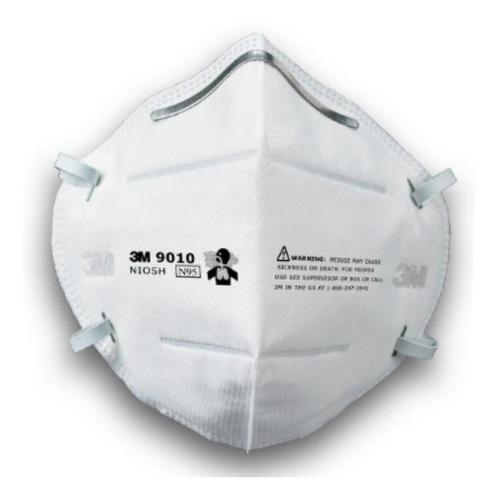 Mascarilla Barbijo Tapaboca Respirador Plegable 9010 3m X Un