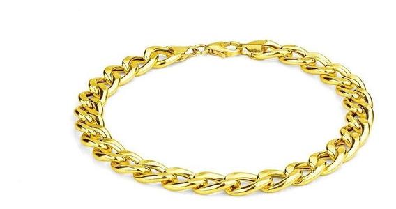 Corrente Masculina Em Ouro 18k Grumet 50cm