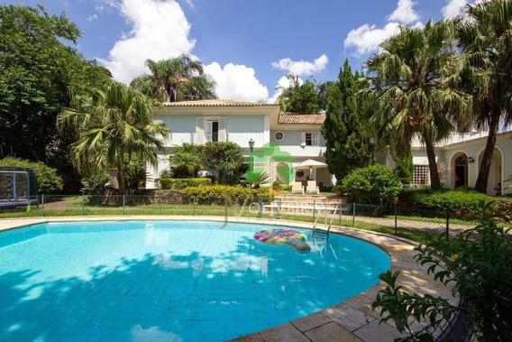 Casa Com 4 Dormitórios À Venda, 865 M² Por R$ 4.900.000,00 - Jardim Guedala - São Paulo/sp - Ca0169