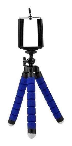 Mini Tripé Flexível Articulado Suporte Celular Selfie Câmera