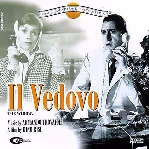 Armando Trovaioli Il Vedovo - Bso Promo Sello Cam Cd Musica